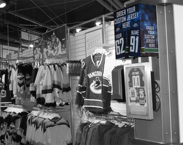 Vancouver Canucks Team Store The Portfolio Site of John Shigeta 600x474