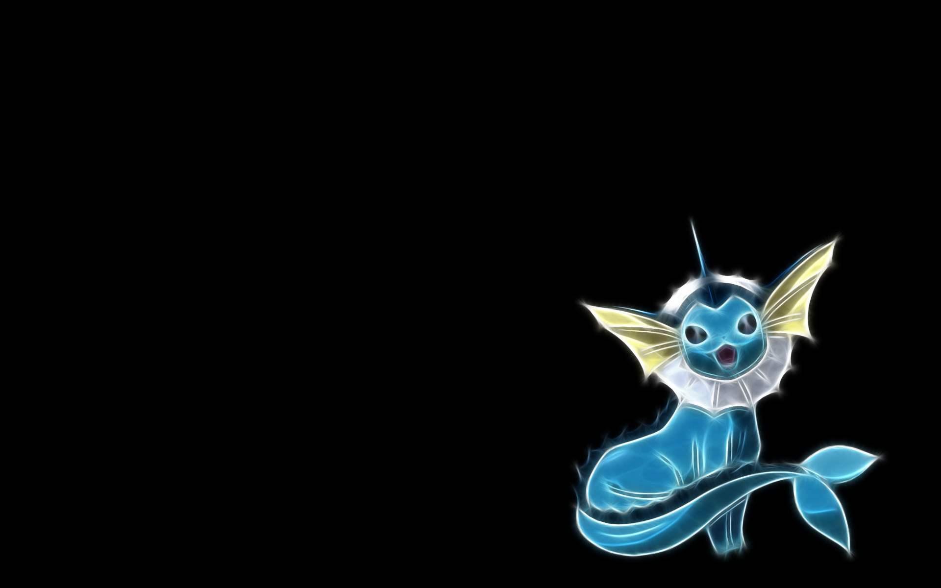 Download the Pokemon anime wallpaper titled Vaporeon 1920x1200