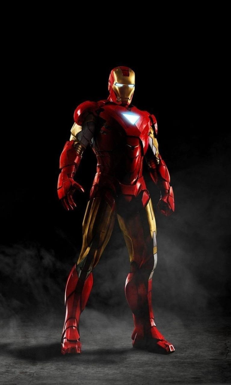 Iron Man 768x1280 Screensaver wallpaper 768x1280