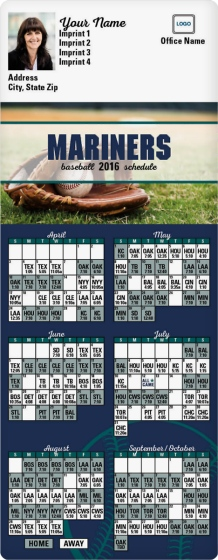 photograph about Mariners Printable Schedule titled Seattle Mariners Program Agencia De Viajes Chihuahua