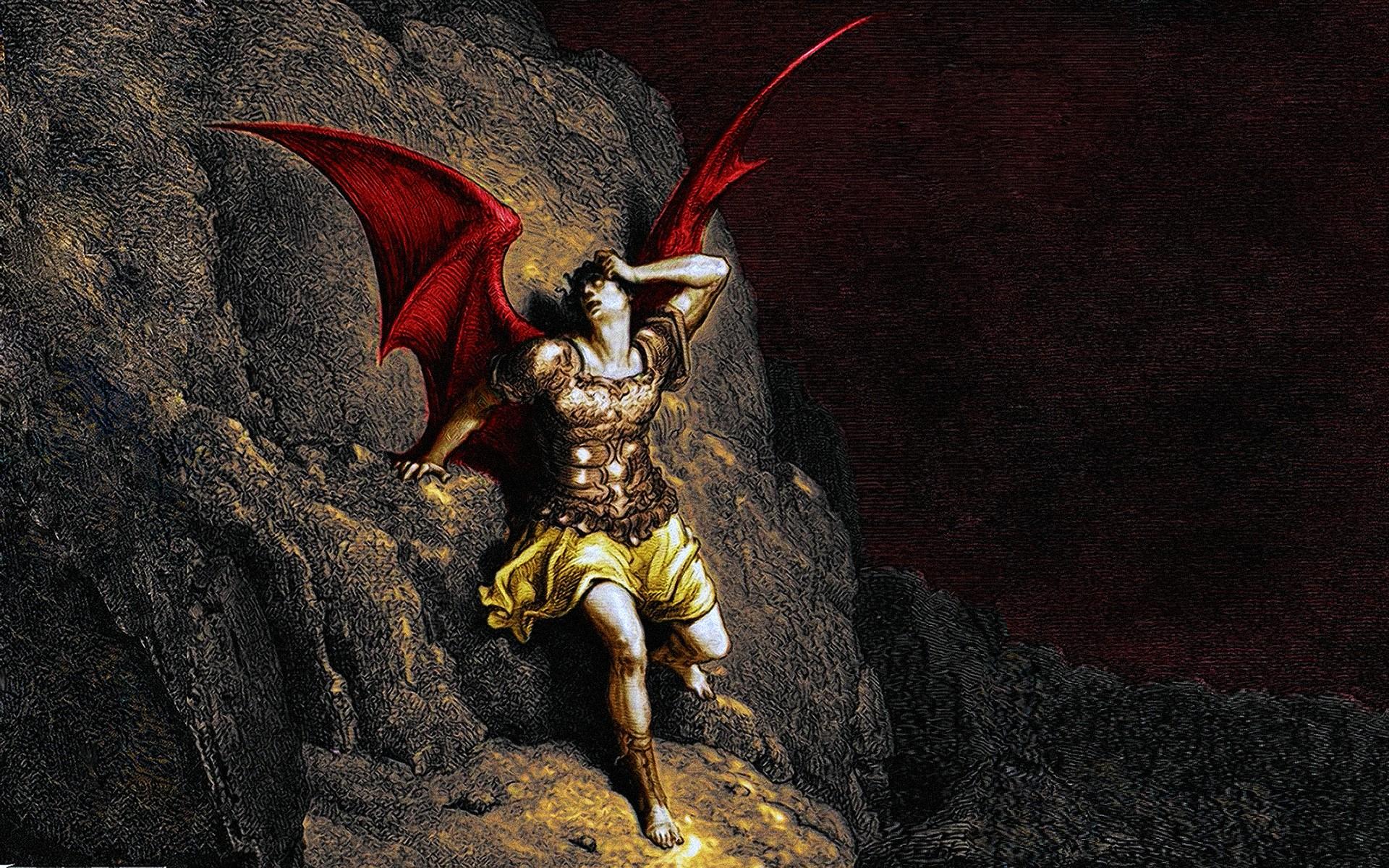 hell heaven satan demonic lucifer satanic demon wallpaper background 1920x1200