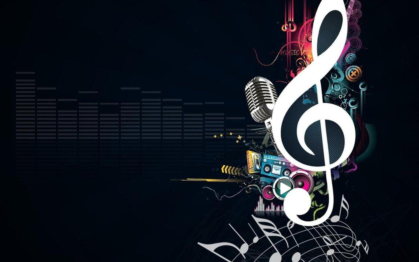 Music Wallpapers Abstract 1440x900
