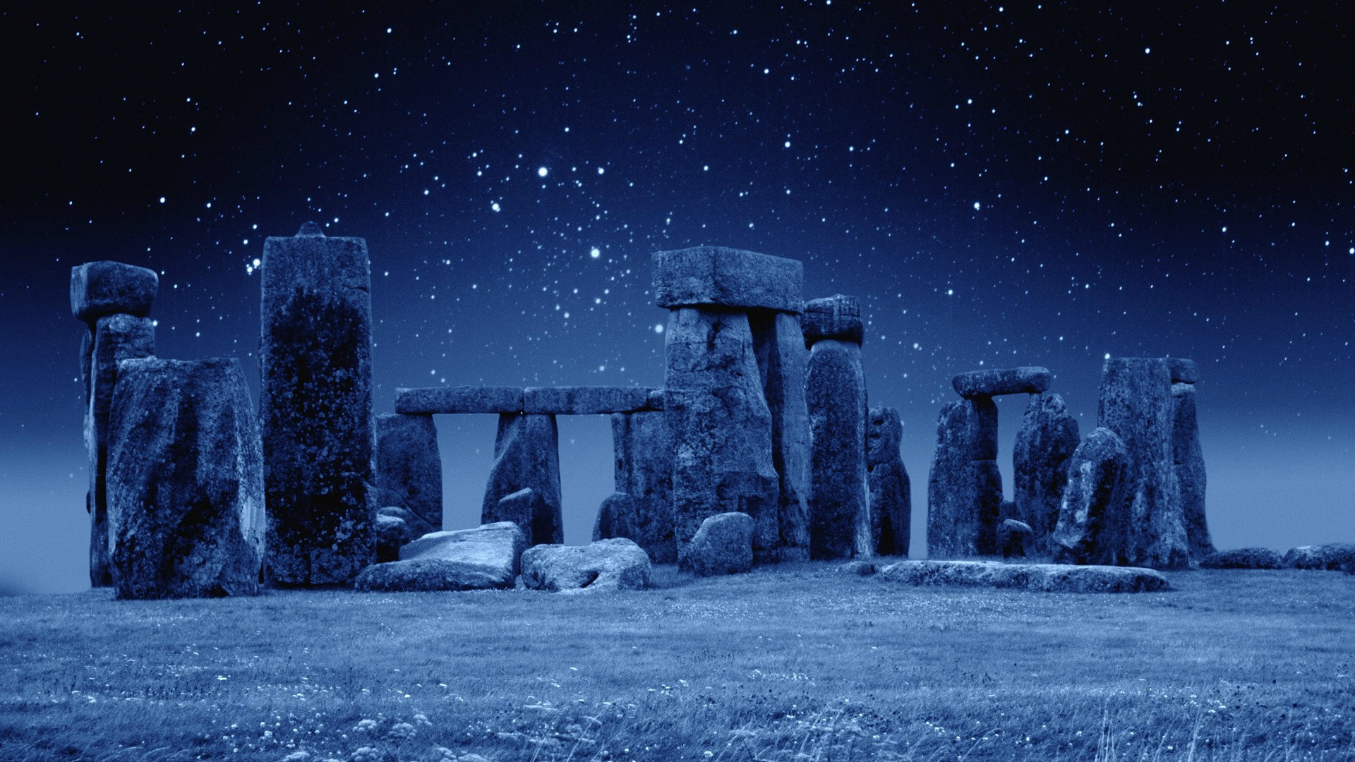Stonehenge At Night [1920x1080] wallpapers 1920x1080