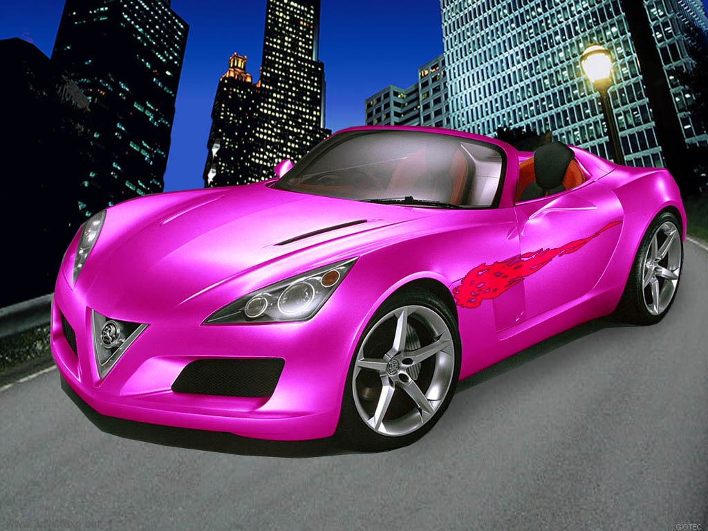 Tuned Concept Pink Car Wallpapers HD Wallpapers 1024x768
