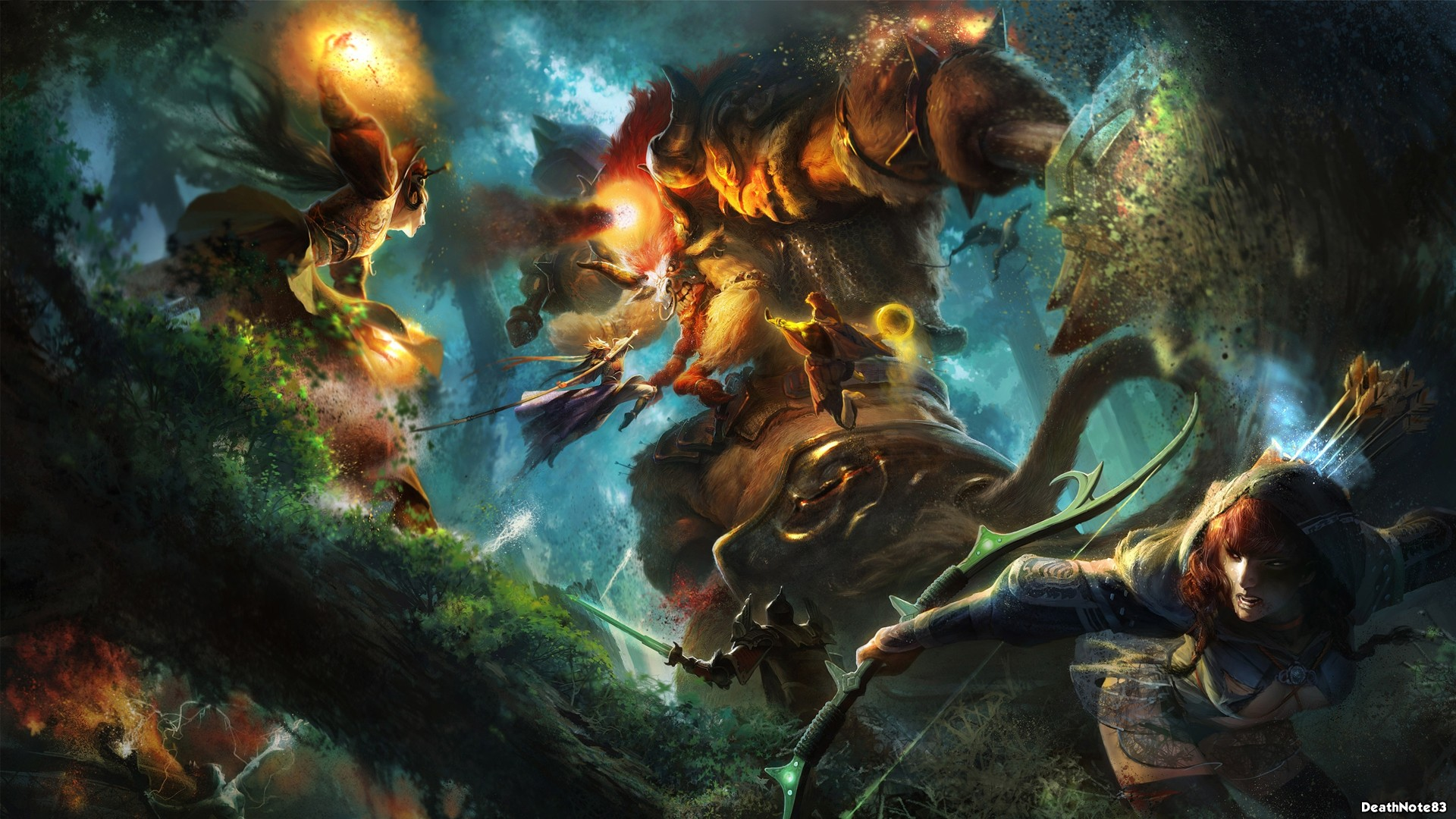 Epic Battle Fantasy 3 HD Wallpapers Backgrounds 1920x1080