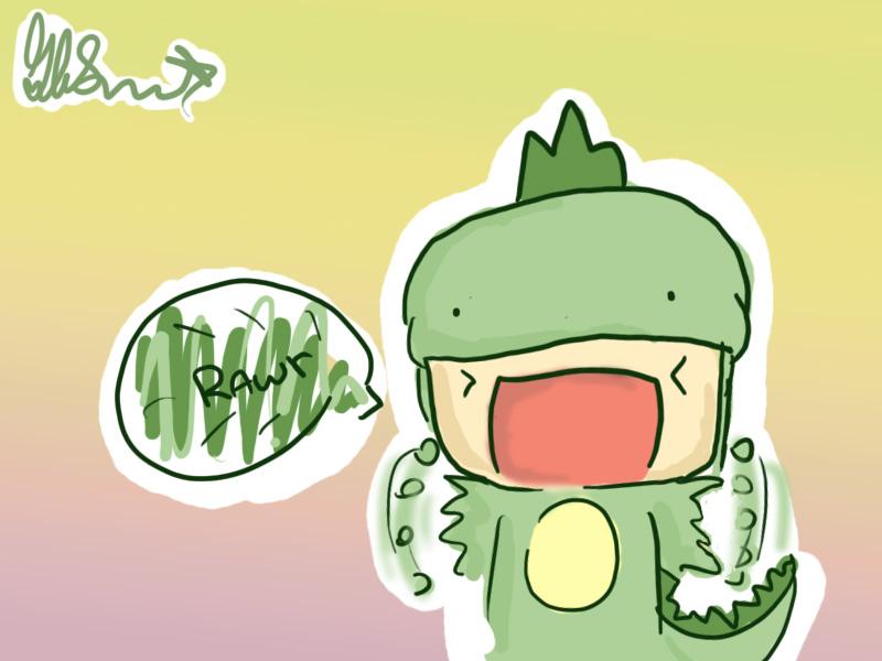 Cute Dinosaur Wallpaper - WallpaperSafari