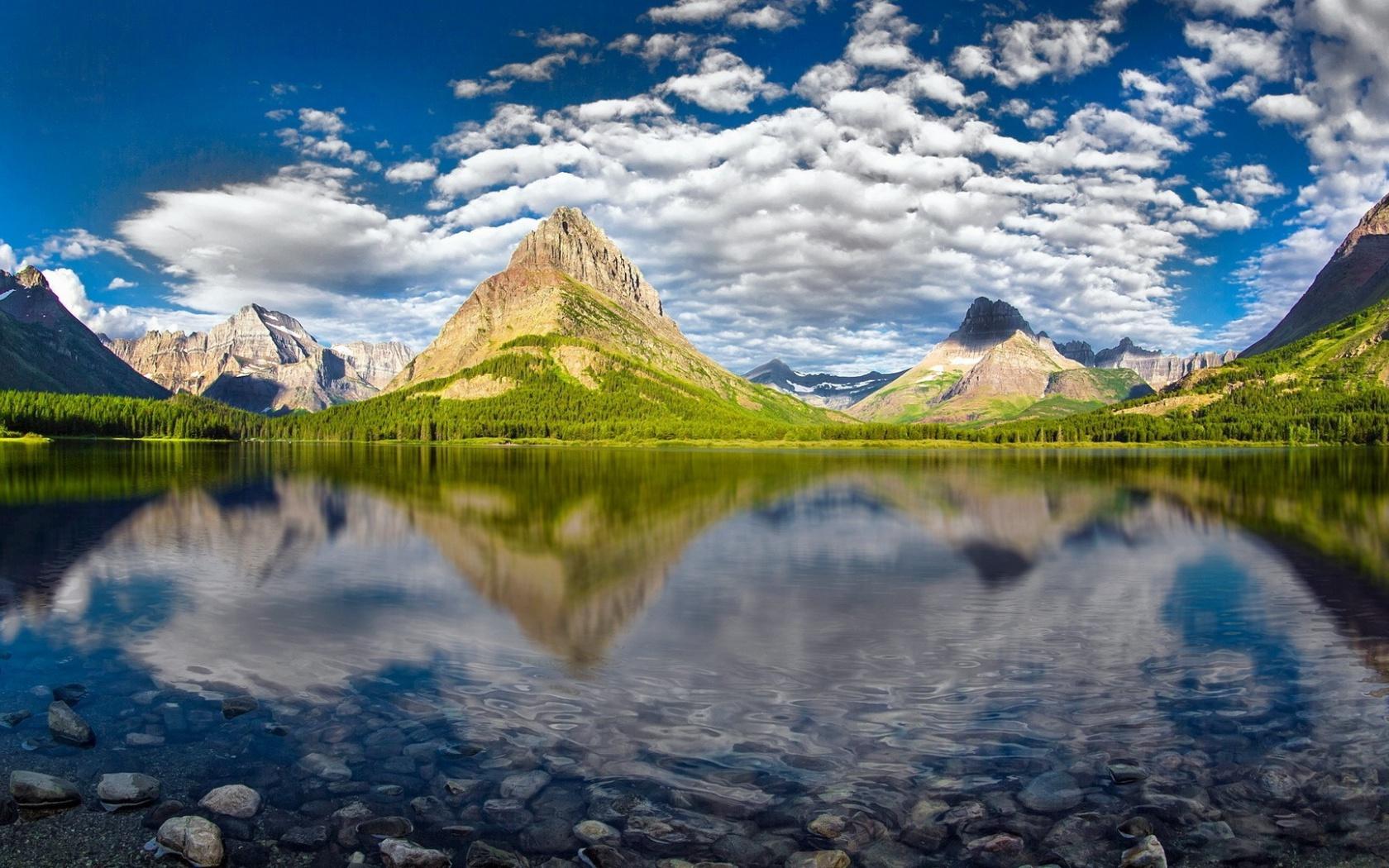 1680x1050 Beautiful Glacier National Park desktop PC and Mac wallpaper 1680x1050