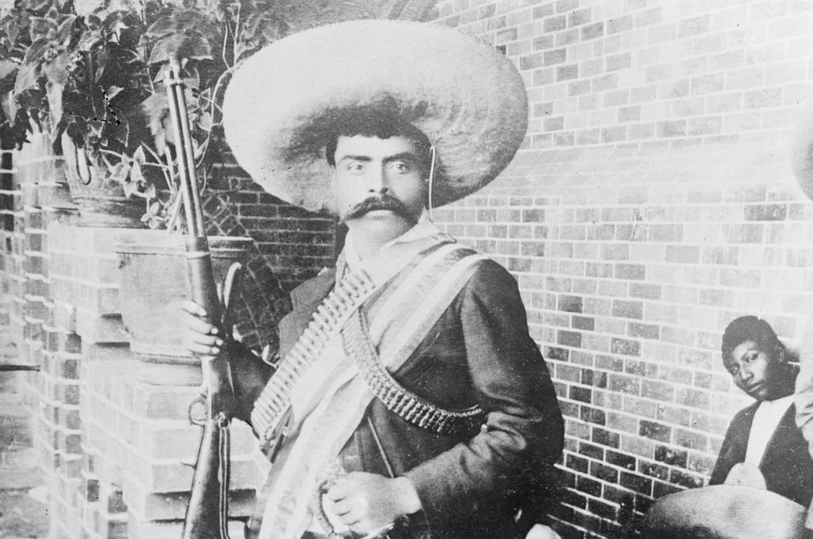 Historical Wallpapers Emiliano Zapata 1879 1919 1600x1061