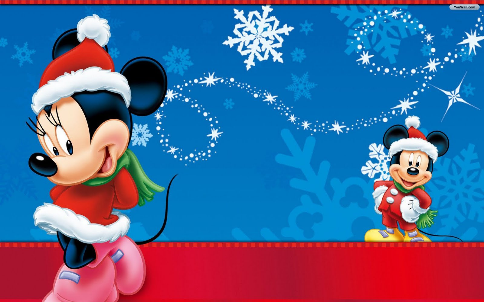 Christmas 5 adorable Disney Christmas wallpapers for your computer 1600x1000