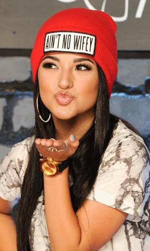 Download Becky G Wallpaper for Android by cube wallpaper   Appszoom 307x512