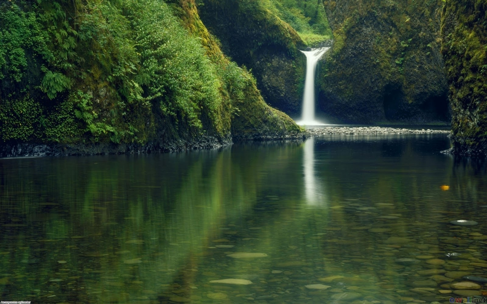 Full HD Waterfall Nature Wallpapers for Laptop Background Widescreen 1600x1000