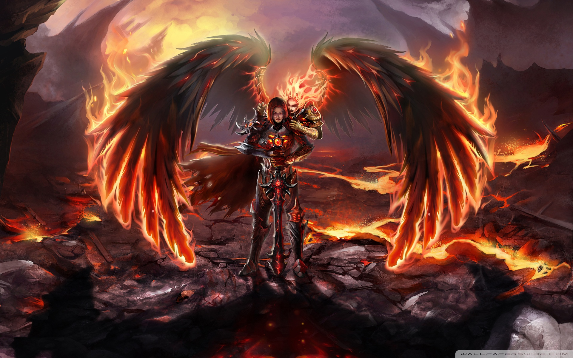 45 black angel devil wallpaper on wallpapersafari - Free evil angel pictures ...