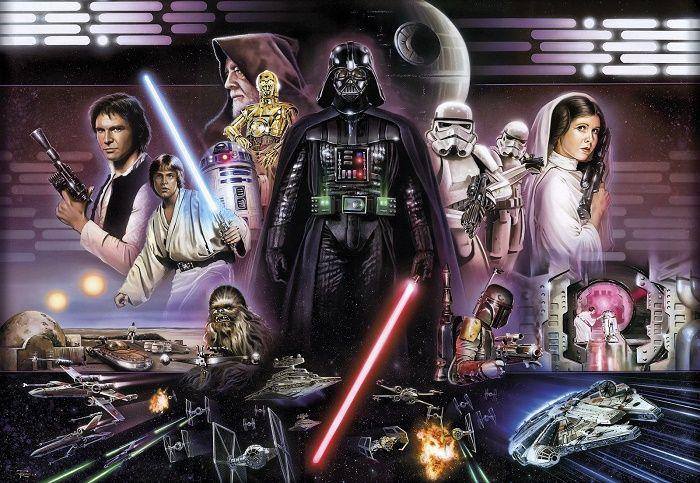 49 Star Wars Wallpaper Mural On Wallpapersafari
