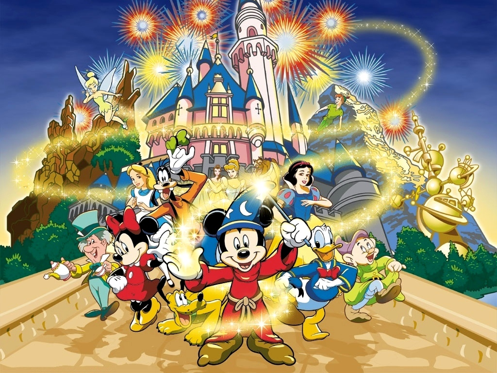 Beautiful Mickey Mouse Cartoon Wallpapers Beautiful Background 1024x768