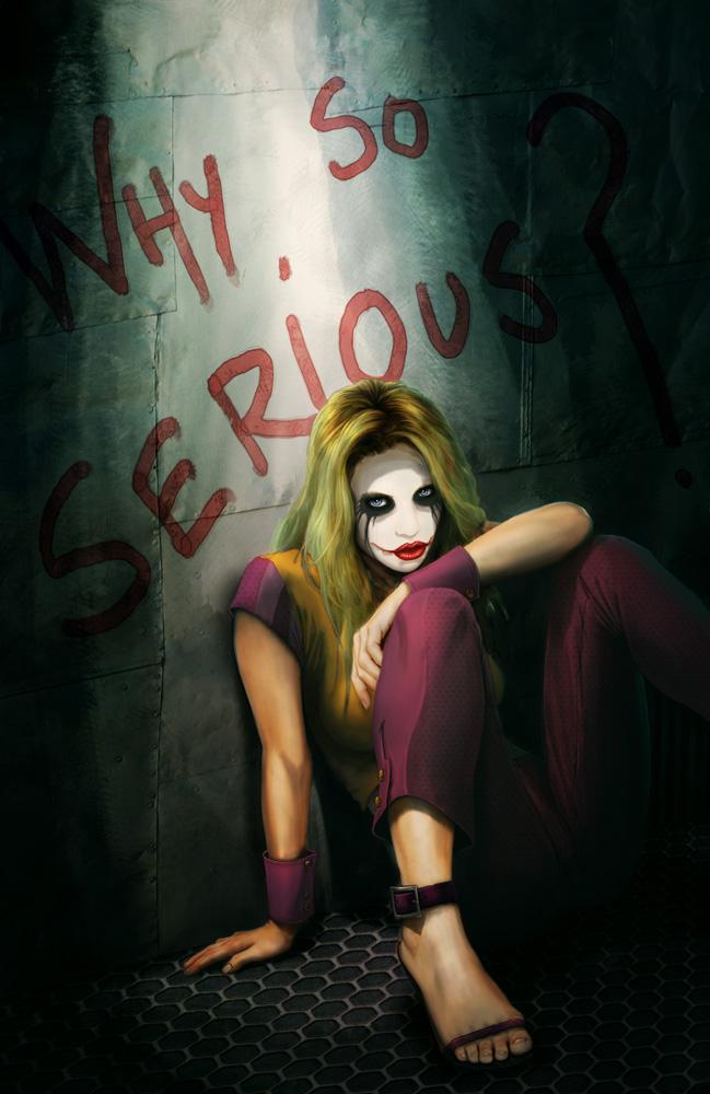 The Joker Wallpaper Why So Serious 649x1000