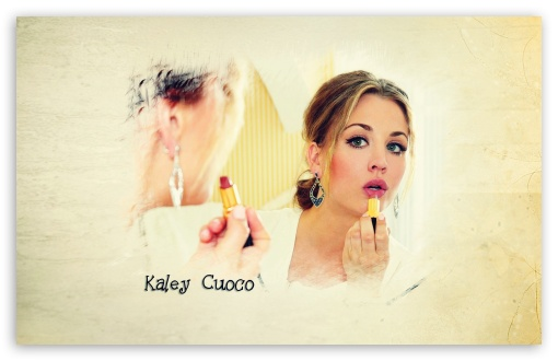 Kaley Cuoco HD wallpaper for Standard 43 54 Fullscreen UXGA XGA SVGA 510x330