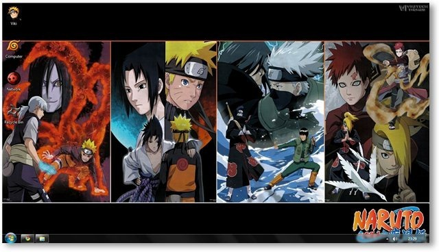 Naruto Shippuden Theme for Windows 7 and Windows 8 [Anime Themes] 640x368