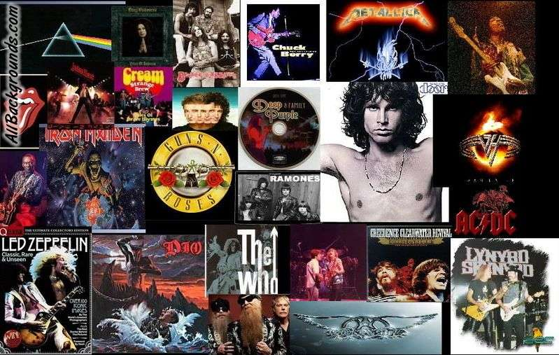 Classic Rock Backgrounds   Twitter Myspace Backgrounds 799x507