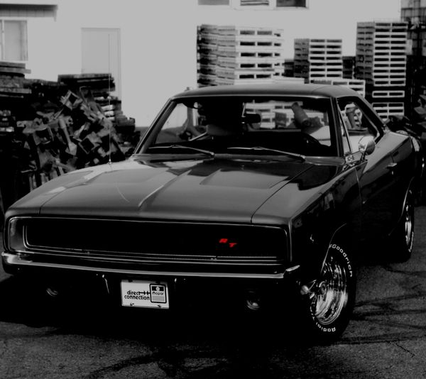 Black Dodge Charger Wallpaper