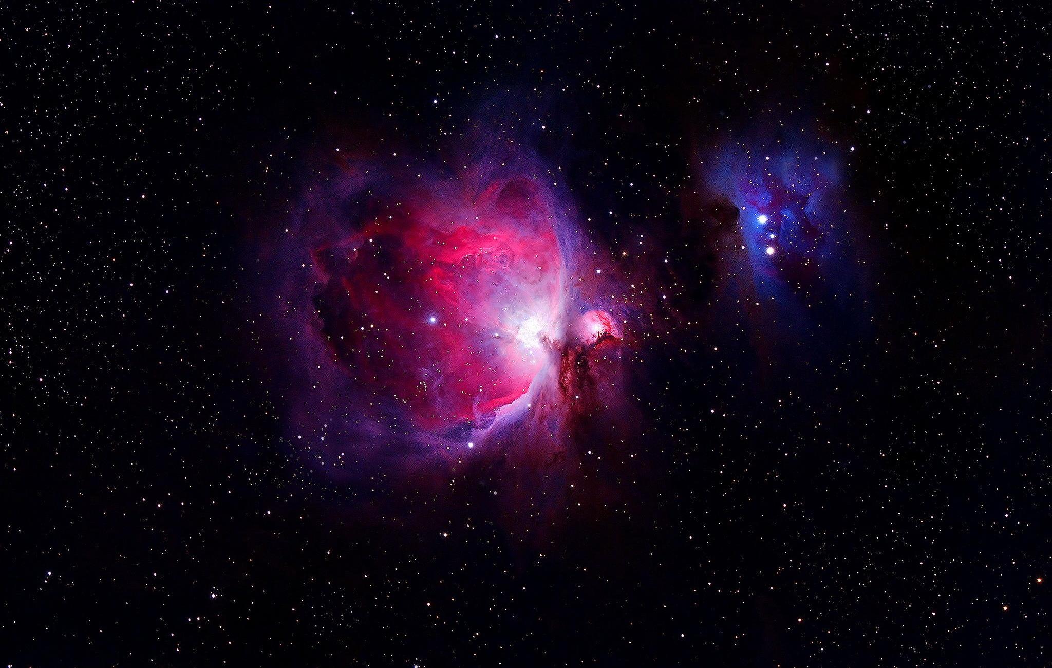 Pics Photos   Orion Nebula Wallpaper 2048x1300