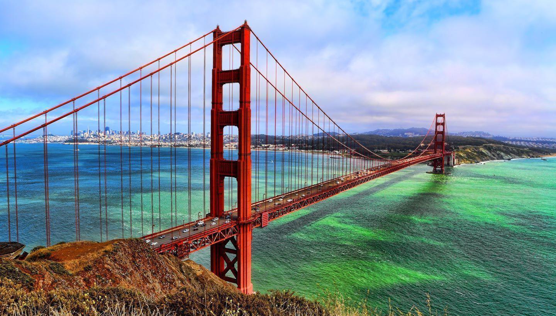 Free Download Golden Gate Bridge Wallpapers 1440x818 For Your Desktop Mobile Tablet Explore 93 San Francisco Bay Bridge Wallpapers San Francisco Bay Bridge Wallpapers San Francisco Bay Bridge Sunset