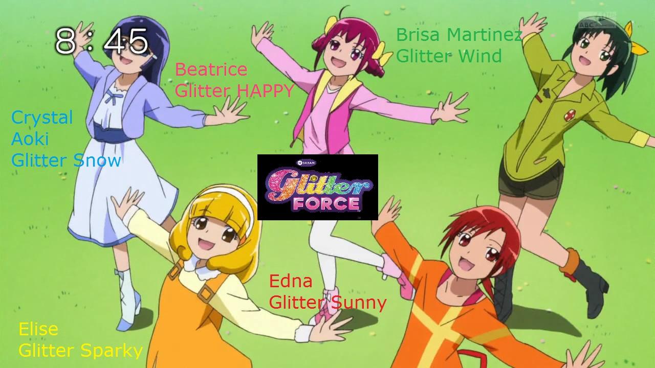Glitter Force names by Fu reiji 1280x720