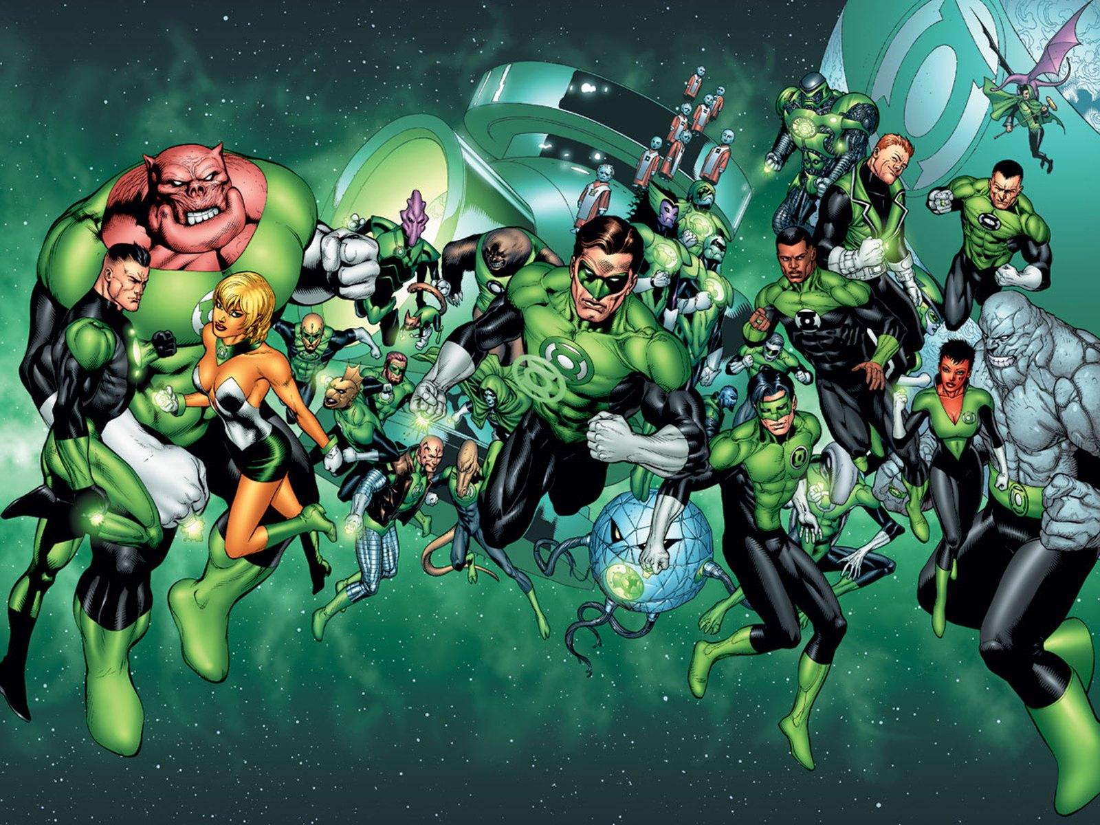 Green Lantern Corps wallpapers Comics HQ Green Lantern Corps 1600x1200