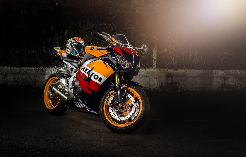 Wallpaper motorcycle helmet honda Blik bike Honda supersport 1332x850