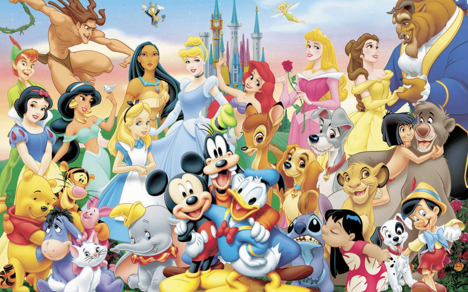 Download Disney Characters Wallpapers for computer desktop 1600x1000
