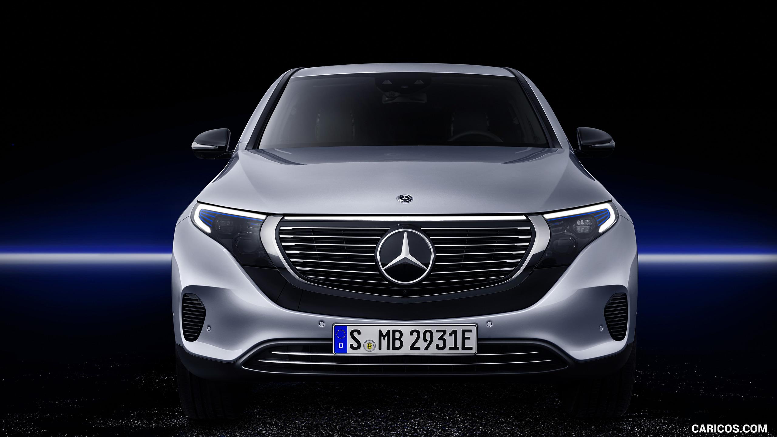 2020 Mercedes Benz EQC 400 4MATIC Electric SUV   Front HD 2560x1440