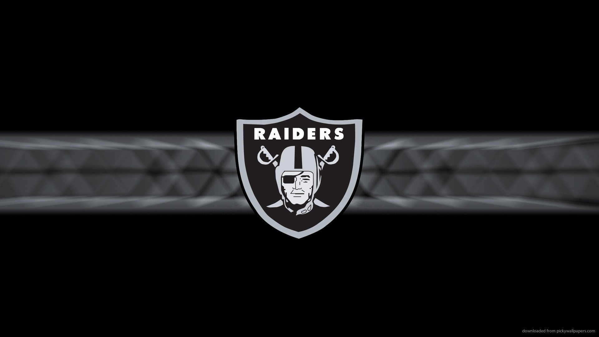 Download 1920x1080 Oakland Raiders Logo Wallpaper 1920x1080
