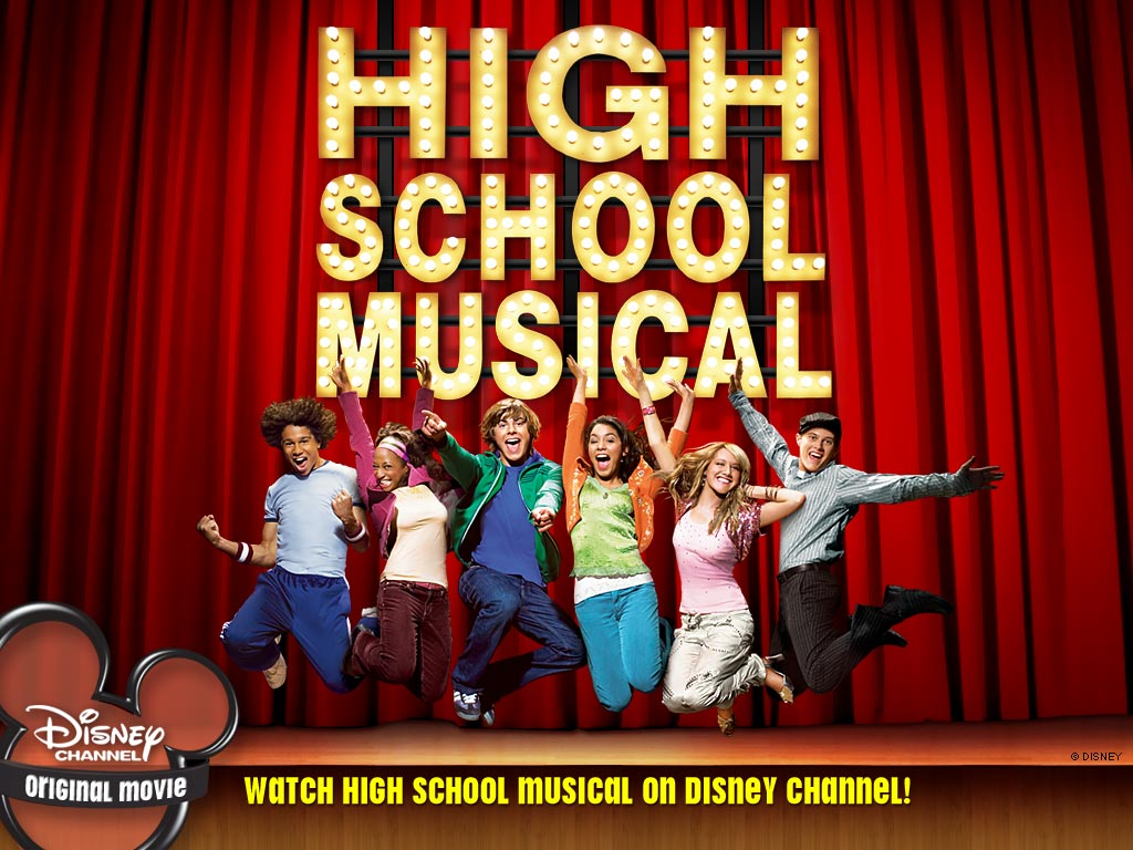 High School Musical   High School Musical Wallpaper 34911 1024x768