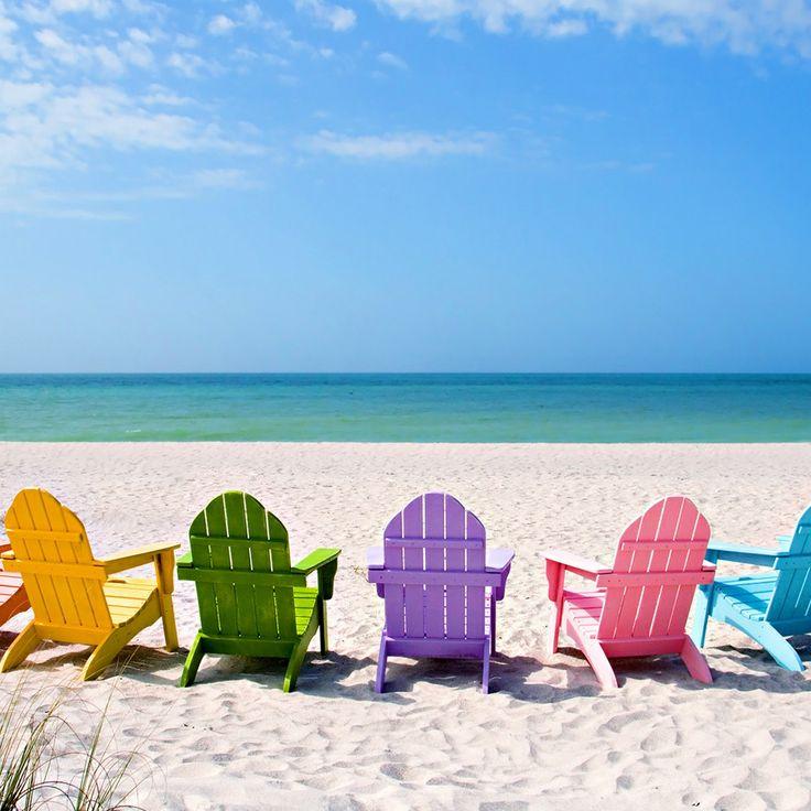 Desktop Wallpaper Hd Beach: Beach Chair Desktop Wallpaper