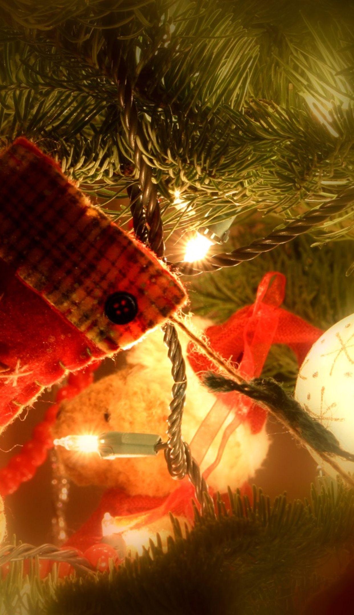 tree with hanging stocking 1242x2208 4k HD wallpaper wallpprscom 1242x2160