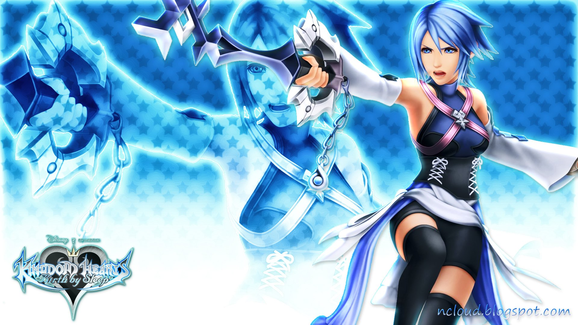 Movies Music Anime My Kingdom Hearts Birth By Sleep Aqua Wallpaper 1920x1080