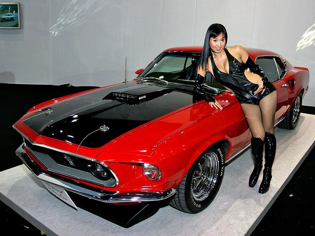 Car Picture   Sexy Girl with car Wallpaper 1024x768