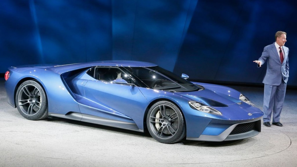 The all new Ford GT ultra high performance supercar features the most 1024x576