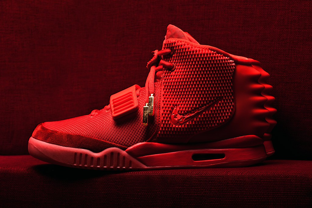 Looking into the Construction and Quality of the Red Nike Air Yeezy 2 1024x683