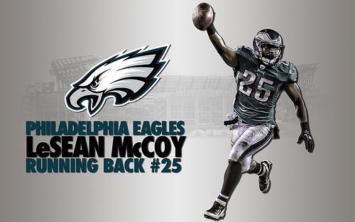 LeSean McCoy Philadelphia Eagles Wallpaper Flickr   Photo Sharing 500x313