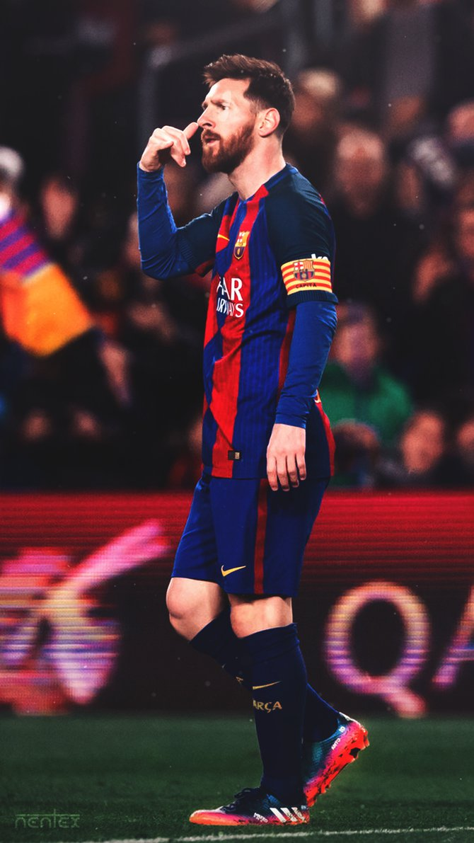 Mobile Wallpaper Messi by enihal 670x1191