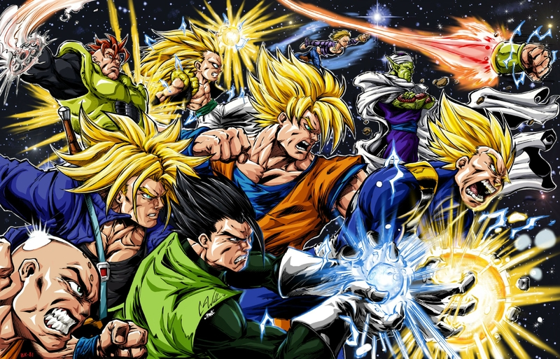 dragon ball z super saiyan Anime Dragonball HD Desktop Wallpaper 800x513