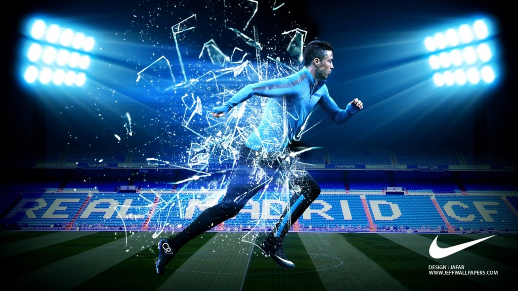 Download Cristiano Ronaldo 3D Nike Shoes CR7 Desktop Wallpaper Search 1024x575