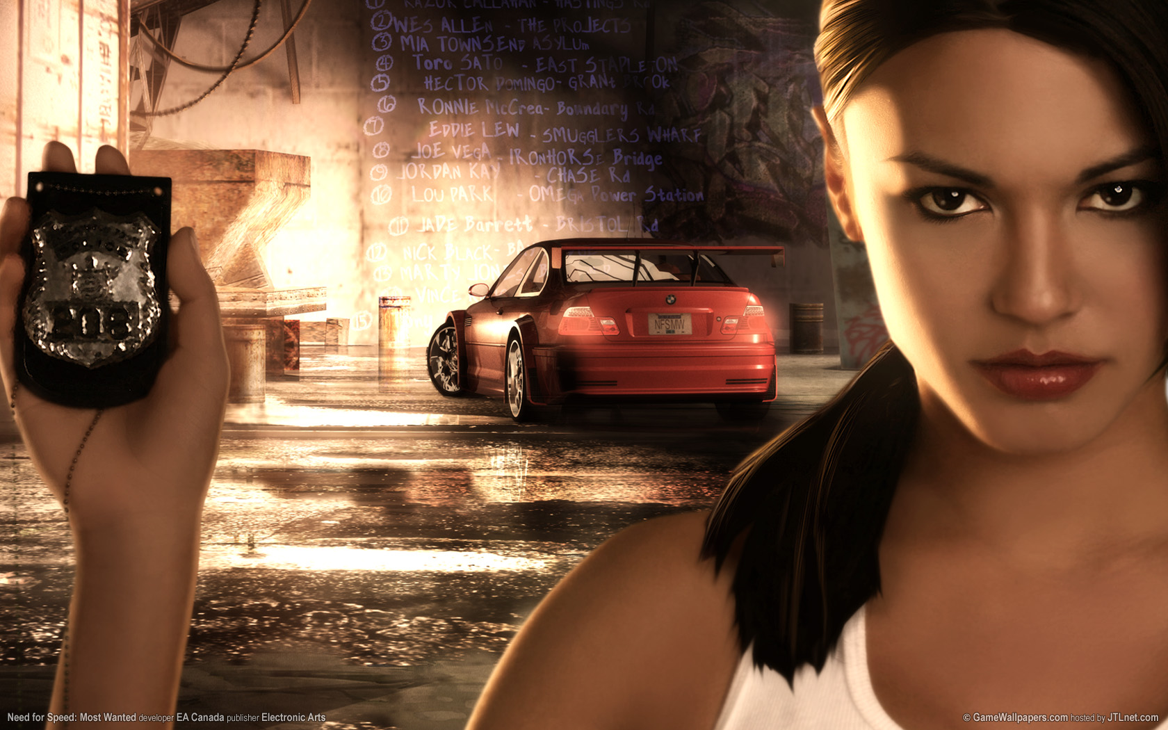 NFS Most Wanted wallpapers NFS Most Wanted stock photos 1680x1050