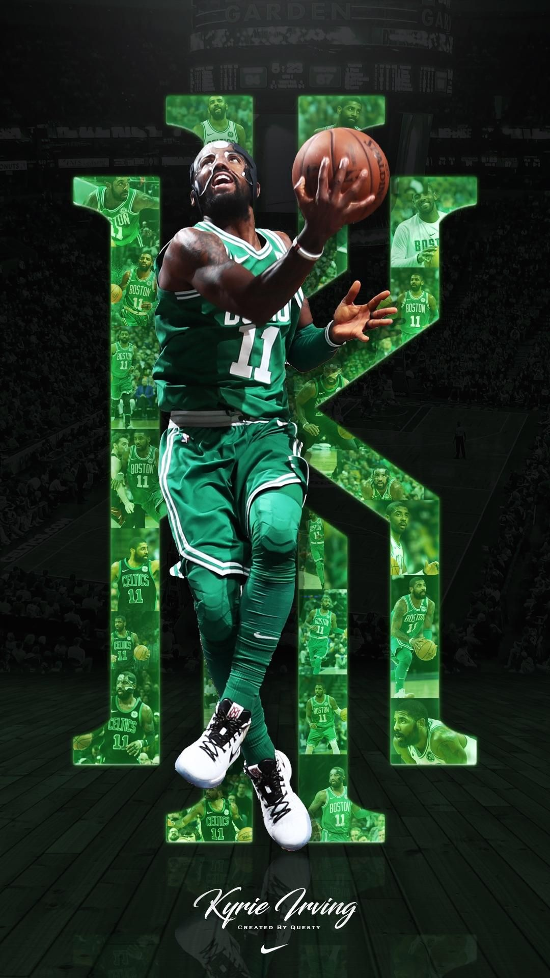 Cool Basketball Background Image Irving wallpapers Kyrie irving 1080x1920