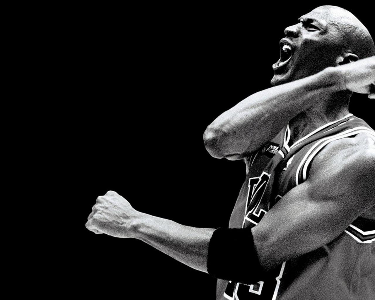 michael jordan athletes chicago bulls air Wallpaper Wallpapers 1280x1024