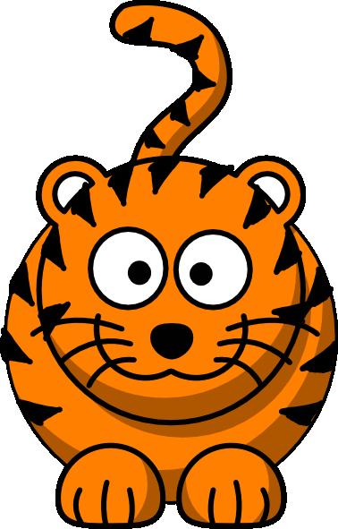 Tiger Cartoon Clip Art at Clkercom   vector clip art online royalty 378x591