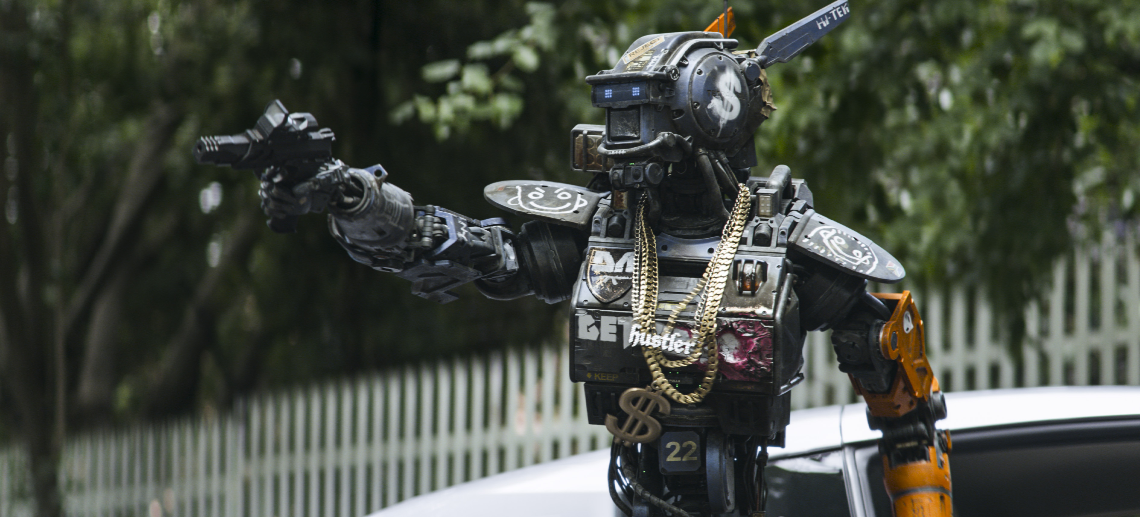 42 Chappie HD Wallpapers Background Images 3778x1716