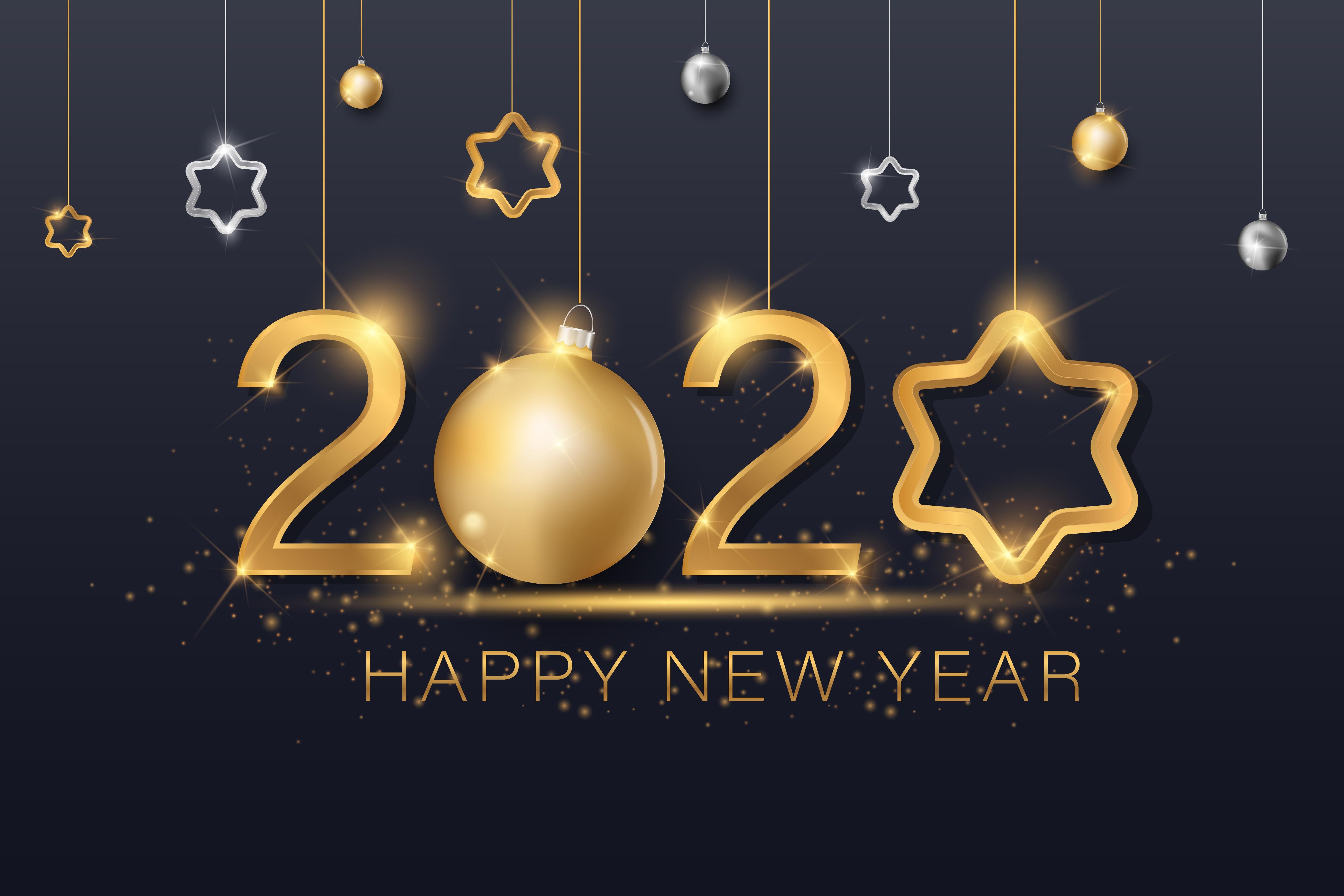 New Year 2020 4k Ultra HD Wallpaper Background Image 5000x3333 5000x3333