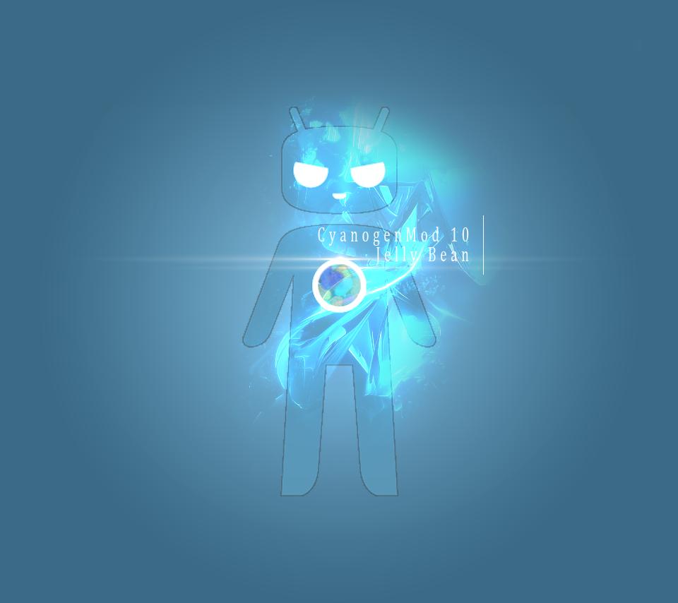 960x854px CyanogenMod Wallpaper
