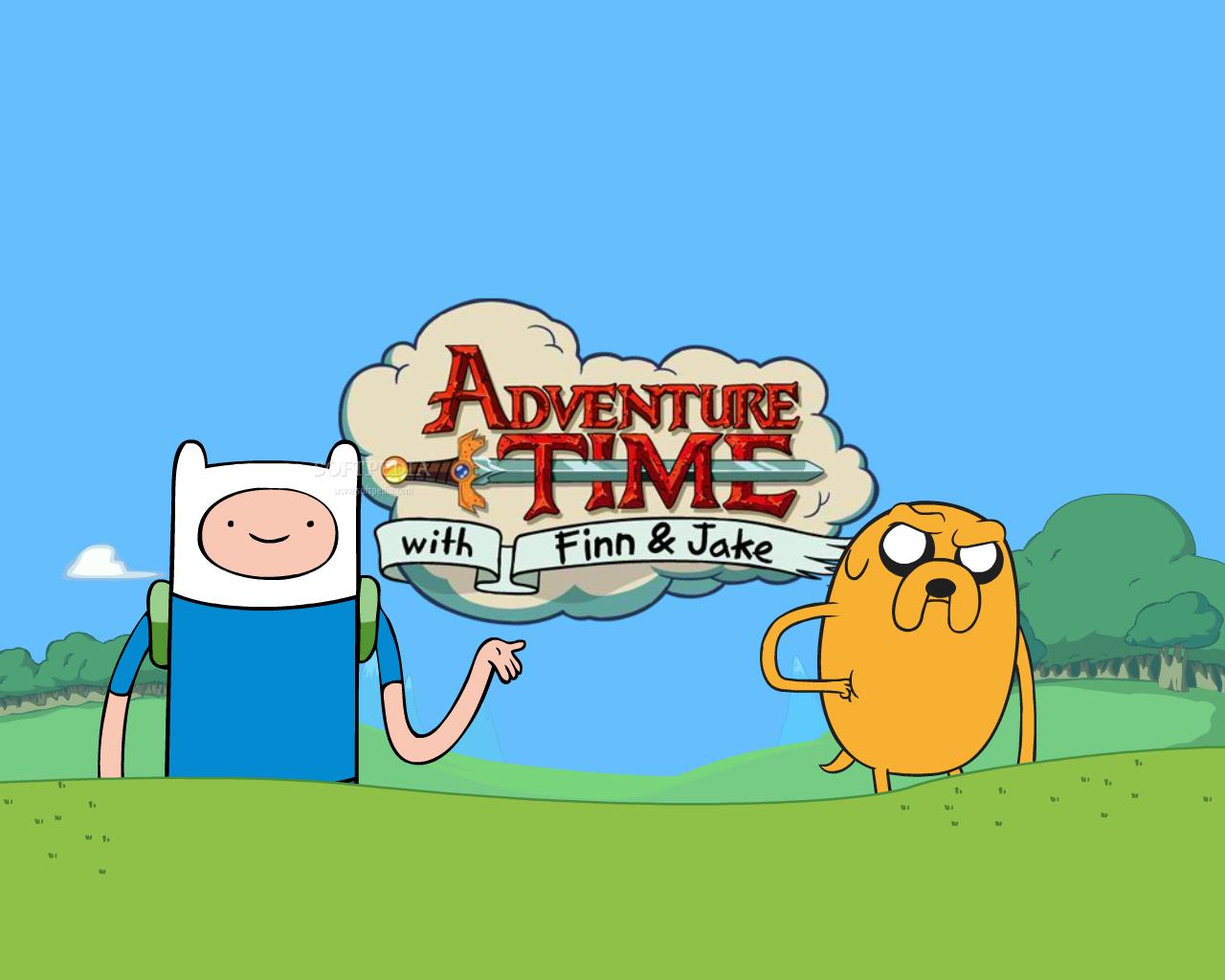 Adventure Time Wallpaper 1280x1024 Adventure Time Finn The Human 1280x1024
